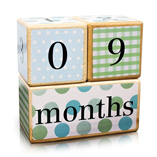 LovelySprouts-Milestone-Age-Blocks-Solid-Wood-Baby-Age-Photo-Blocks-Perfect-Baby-Shower-Gift-Neutral