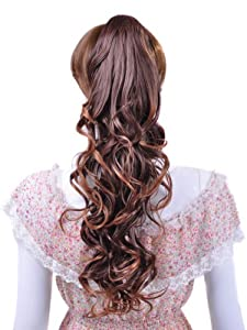Flirty Claw Clip Ponytail Hair Extension Color #2t27