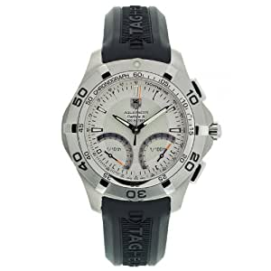 TAG Heuer Men's CAF7011.FT8011 Aquaracer Calibre S Chronograph Watch