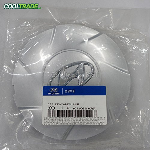 OEM Genuine Wheel Center Hub Cap Aluminum 4p 1set for 11 13 Hyundai Elantra Md (Hubcap Hyundai Elantra compare prices)
