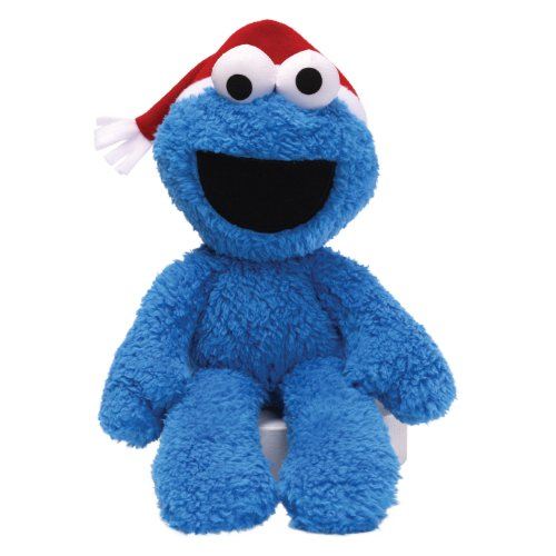 "Gund Sesame Street Seasonal Cookie Take Along Buddy 12"" Plush front-816554"
