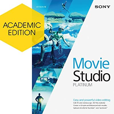 Sony Movie Studio 13 Platinum - Academic Version [Download]