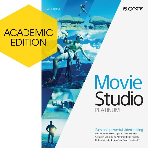 Sony Movie Studio 13 Platinum - Academic Version [Download] (Sony Movie Studio Platinum 10 compare prices)