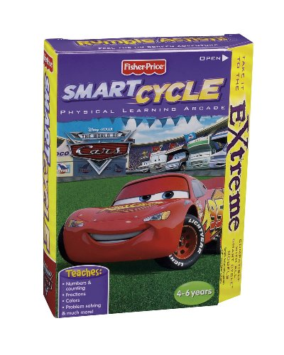 Click To Fisher Price Smart Cycle Extreme The World of Cars Details