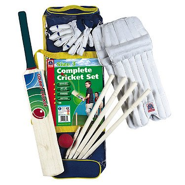 Complete Cricket Set Size 3 in Bag