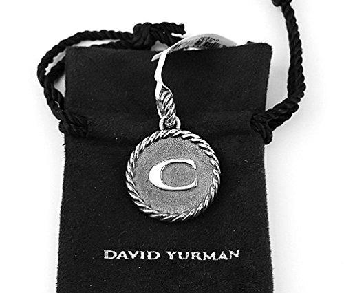 david-yurman-amazing-solid-sterling-silver-initial-c-23-mm-round-pendant