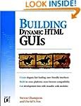 Dynamic HTML GUIs