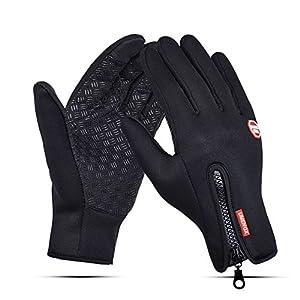 UMENGX スポーツ 登山 グローブ 自転車 アウトドア サイクリンググローブ スマホタッチパネル対応 手袋 防風 防寒