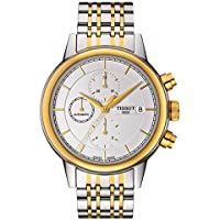 Tissot Carson Two-Tone Automatic Men's Watch (White Dial)