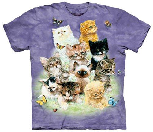 the-mountain-10-kittens-cats-tee-t-shirt-child-xl