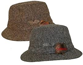 Hanna Hats Irish Tweed Walking Hat