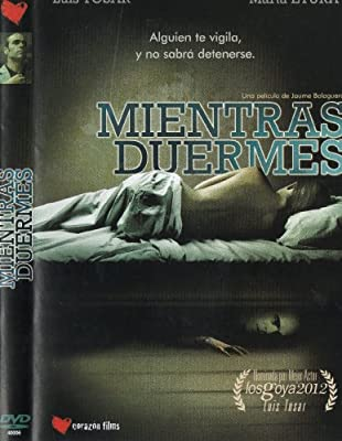 Mientras Duermes [Luis Tosar & Marta Etura] [Ntsc/region 1 and 4 Dvd. Import - Latin America].