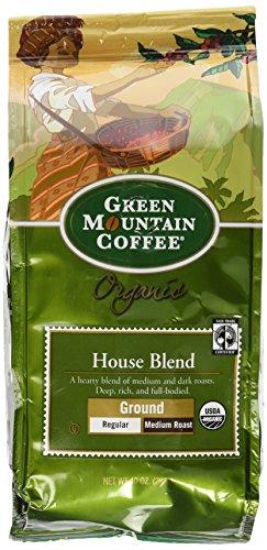 Green Mountain Coffee Fair Trade Organic House Blend, Ground, 10 Ounce Bag