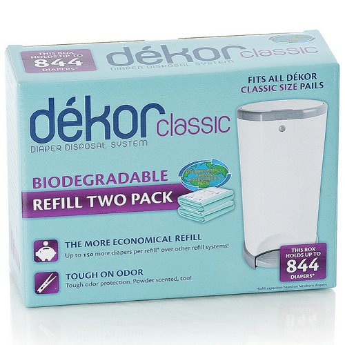 Dekor Classic and Regular 2 Pack Refill - Biodegradable