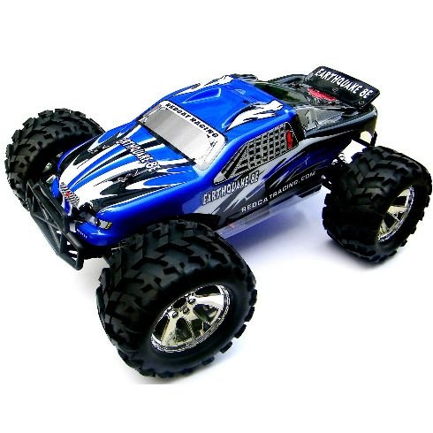 Redcat Racing EARTHQUAKE-8E-BLUE Earthquake 8E .12 Scale Brushless Electric Monster Truck