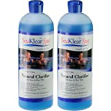 2-Pack Sea Klear Natural Clarifier for Spas & Hot Tubs - 2 Quarts (64 oz. total)