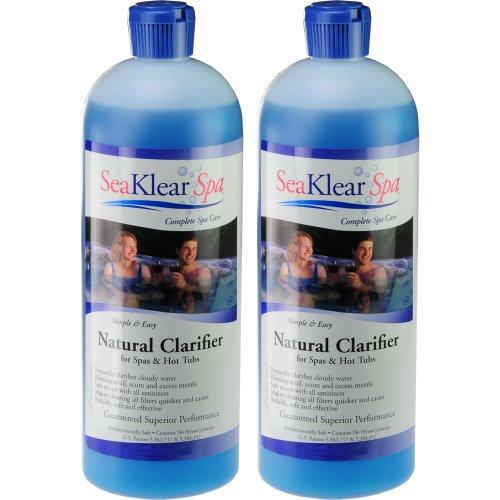 2-pack-sea-klear-natural-clarifier-for-spas-hot-tubs-2-quarts-64-oz-total