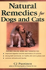 Natural Remedies For Dogs And Cats by McGraw-Hill