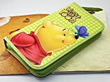 Morcolor Disney Winnie The Pooh Nylon 80 Capacity CD/DVD/VCD Wallet Album Carrying Storage Case Bag