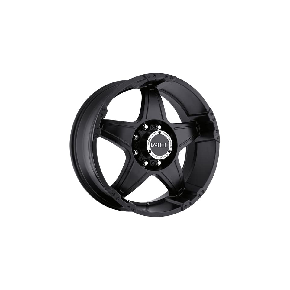 V Tec Wizard 20 Matte Black Wheel / Rim 6x5.5 with a 0mm Offset and a 106.2 Hub Bore. Partnumber 395 2983MB0
