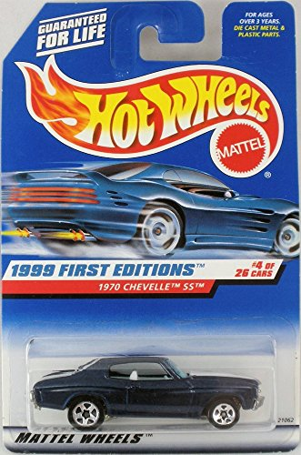 Mattel Hot Wheels 1999 First Edition #4 of 26 cars, 1970 Chevelle SS, #915