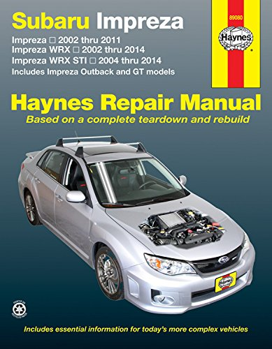 subaru-impreza-and-wrx-automotive-repair-manual-haynes-repair-manual-paperback