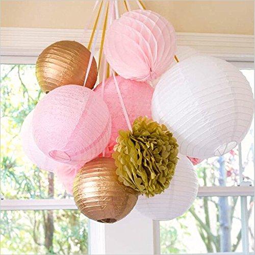 SUNBEAUTY-Paquete-de-11-piezas-8-20-cmOro-Rosa-Blanco-Bolas-de-nido-de-abeja-faroles-de-papel-Pom-Pom-flores-de-papel-decoracin-para-boda-fiesta-cumpleaos-santa-semana-Navidad-San-Valentines