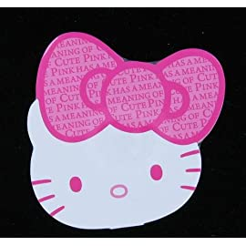 Japanese Sanrio 35th Anniversary Hello Kitty Shaped Memo Pad (Pink)