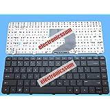 FidgetFidget Keyboard for HP Pavilion G4 G6 G4-1000 G6-1000 CQ43 CQ57 CQ58 Laptop US Black