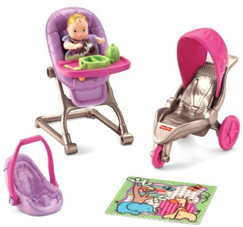 Fisher-Price Loving Family Everything For Baby Children, Kids, Game front-867864