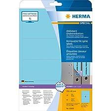 Herma 10168 Etiquettes Bleu