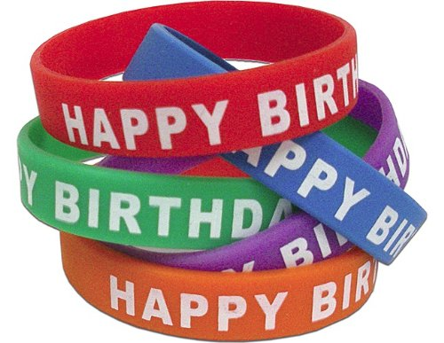 Teacher Created Resources Happy Birthday Wristbands, Multi Color (6559)