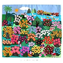 World of Nature' Applique Wall Hanging
