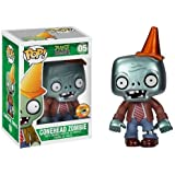 Pop Plants Vs Zombies: Metallic Conehead Zombie SDCC 2013 Exclusive