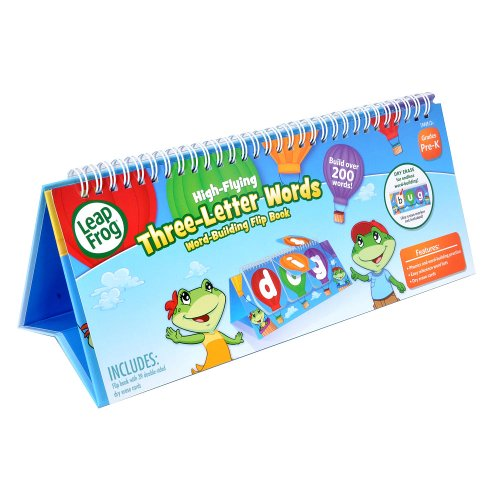 Leap frog high flying three letter words dry erase flip for Leapfrog three letter words