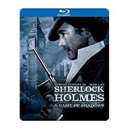 Sherlock Holmes: A Game of Shadows (SteelBook Packaging) [Blu-ray]