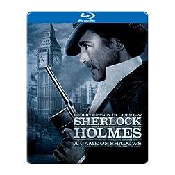 Sherlock Holmes: A Game of Shadows (SteelBook Packaging) [Blu-ray]
