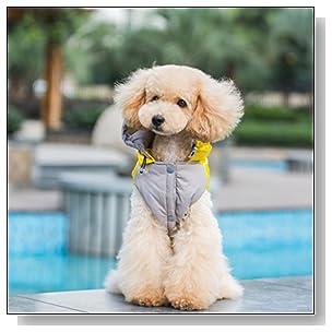 BINGPET Uniform Pet Puppy Dog Cat Winter Clothes Jacket