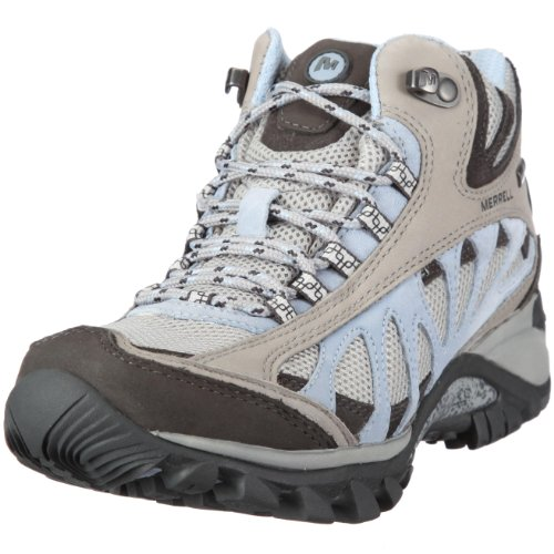 Merrell Women's Siren Ventilator Mid Gore-Tex Smoke Athletic Boot J16872 4 UK