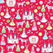 Fairy Tale Gift Wrapping Paper Flat 24\