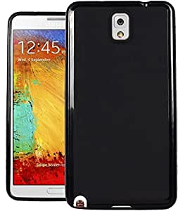 Galaxy Note 3 Case, TURTLE Hybrid TPU Case (Black)