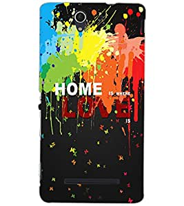 SONY XPERIA C3 HOME Back Cover by PRINTSWAG