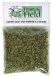 From The Field 0.5-Ounce Catnip Leaf and Flower Bag