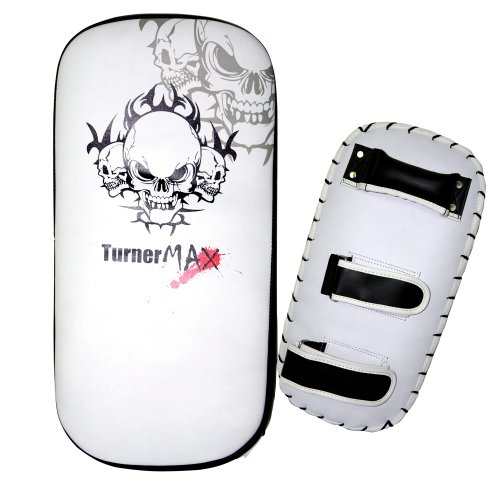 TurnerMAX Muay Thai pad kick Boxing Arm Punching Focus Bag MMA Strike Shield