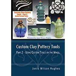 Custom Clay Pottery Tools Part 2 - Using Custom Tools on the Wheel