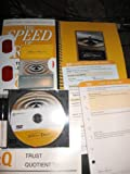 img - for LEADING AT THE SPEED OF TRUST; 8 ITEM SET: PAPERBACK BOOK; SPIRAL BOOK; TRUST QUOTIENT REPORT SAMPLE; TRUST ACTION PLAN; WEEKLY INTEGRATION PROCESS; TRUST ACTION CARDS; GLASSES; ONE PARTICIPANT DVD book / textbook / text book