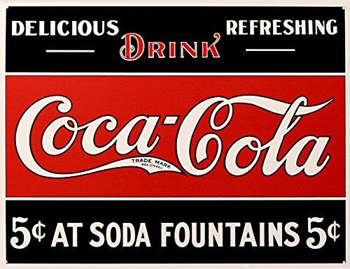 Coca- Cola Tin Sign 16 x 13in 0