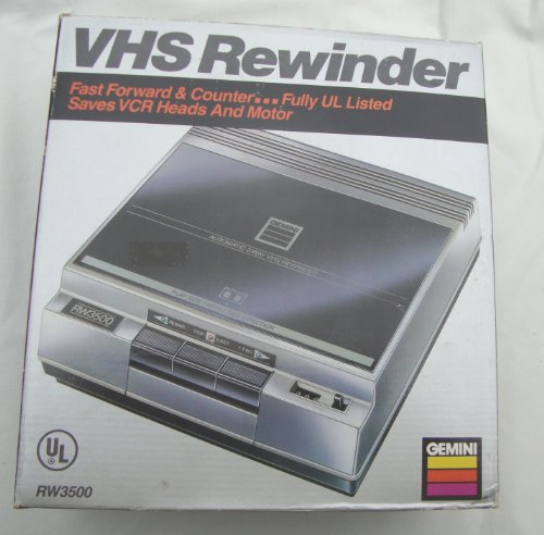 Lowest Prices! Gemini VHS Tape Rewinder
