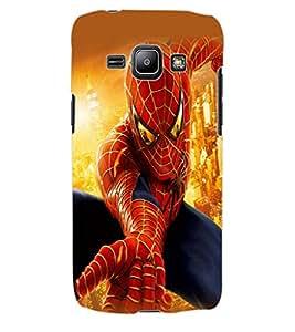 ColourCraft Superhero Design Back Case Cover for SAMSUNG GALAXY J1