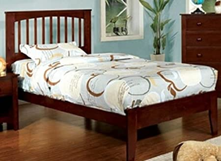 "WelcomeiHome .INC 45""H Pine Brook II Cherry Finish Full Size Bed Frame at Sears.com"